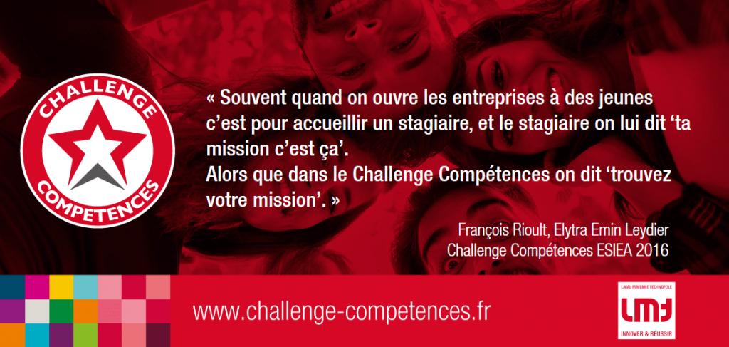 Challenge Compétence citation de François Rioult